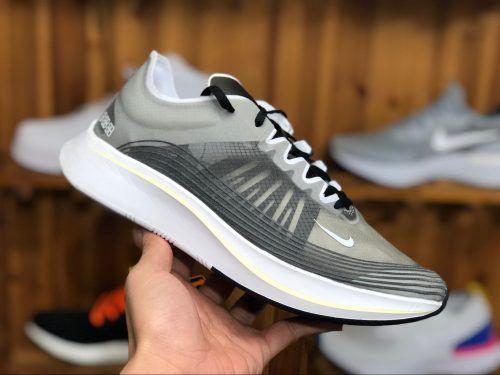 a4d0d4d0b1cdb Nike Zoom Fly SP Black White Light Bone Cheap Sale