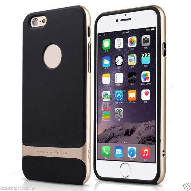 l'atteggiamento migliore ca752 716be FOR Apple Iphone 6 Plus Rock Royce Series Shockproof Dual ...