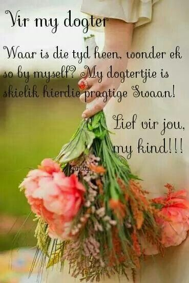 Vir My Dogter X Afrikaans Wedding Flowers Beautiful