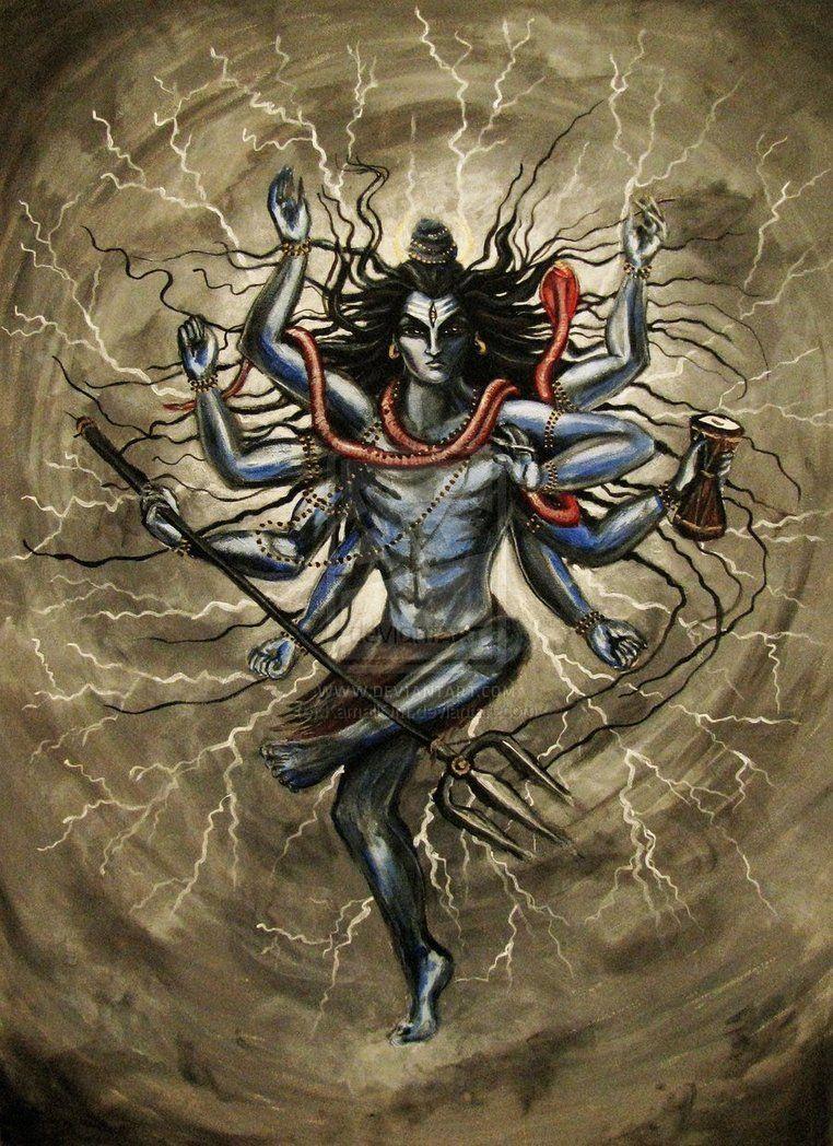 Shiva Canvas Painting Bing Images Shiva Angry Lord Shiva