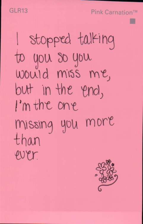 I Miss You Quotes For Him Tumblr