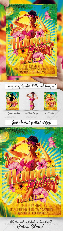 hawaiian template for flyer ecza productoseb co