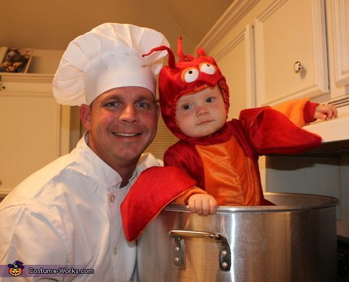 Baby Lobster Costume Pot Sc 1 St Thecrafterlifecom