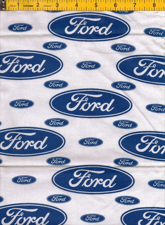 Ford Fabric Ford Logo Fabric Ford
