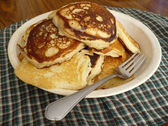 These are the best pancakes I've ever made!! So light and fluffy, plus really easy to make