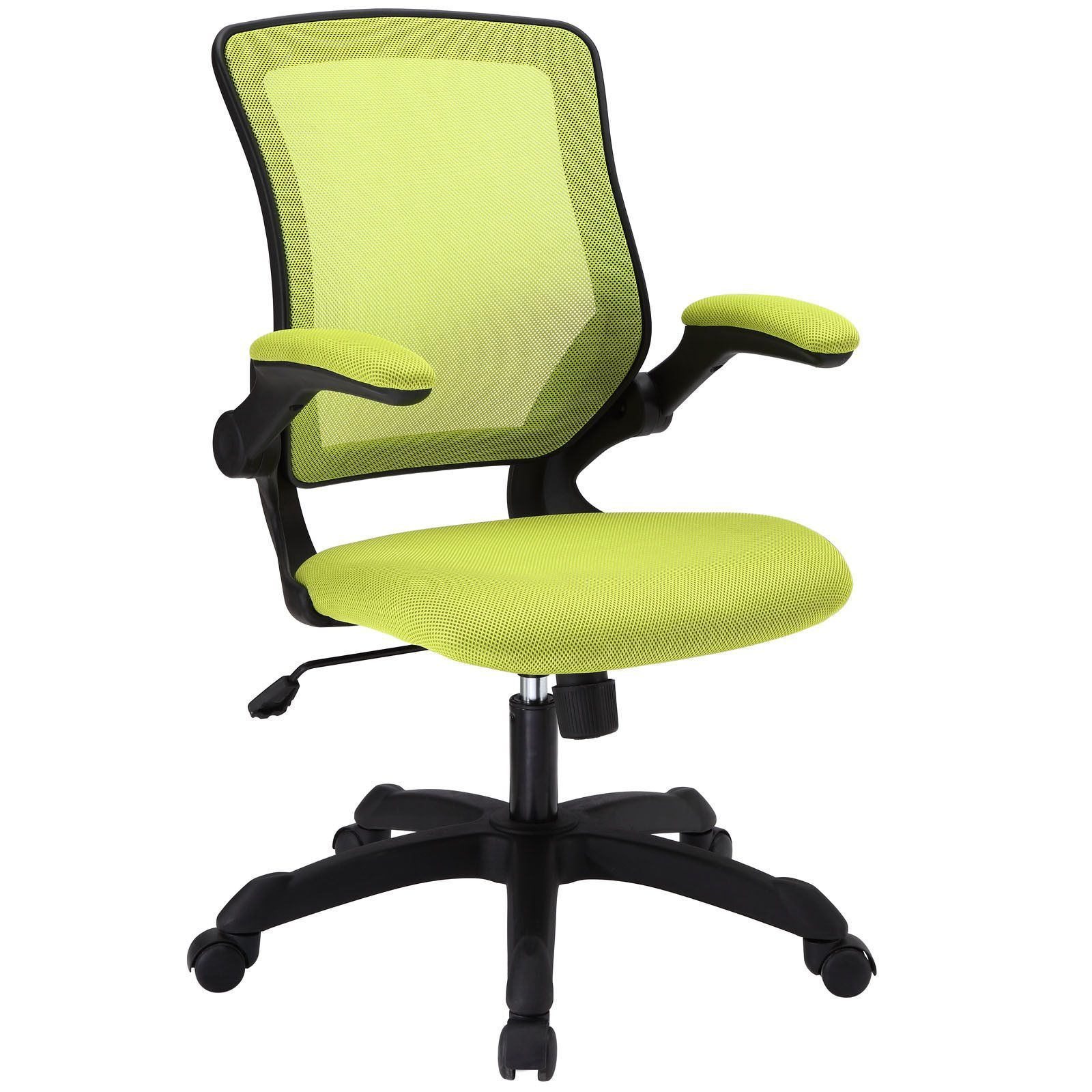 Veer fice Chair with Mesh Back and Mesh Fabric Seat Green