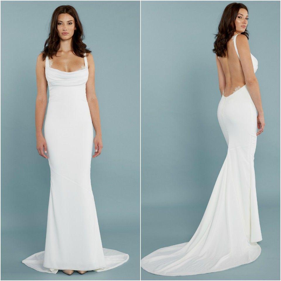 long backless dress for evening | Wedding/Casual | Pinterest ...
