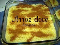 Receitas - Arroz doce simples - Petiscos.com