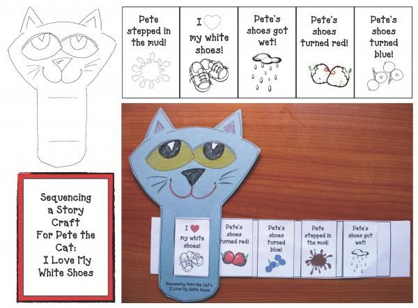 Pete The Cat I Love My White Shoes Story Retell