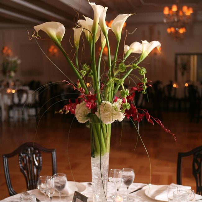 Calla Lilies Centerpieces For Weddings