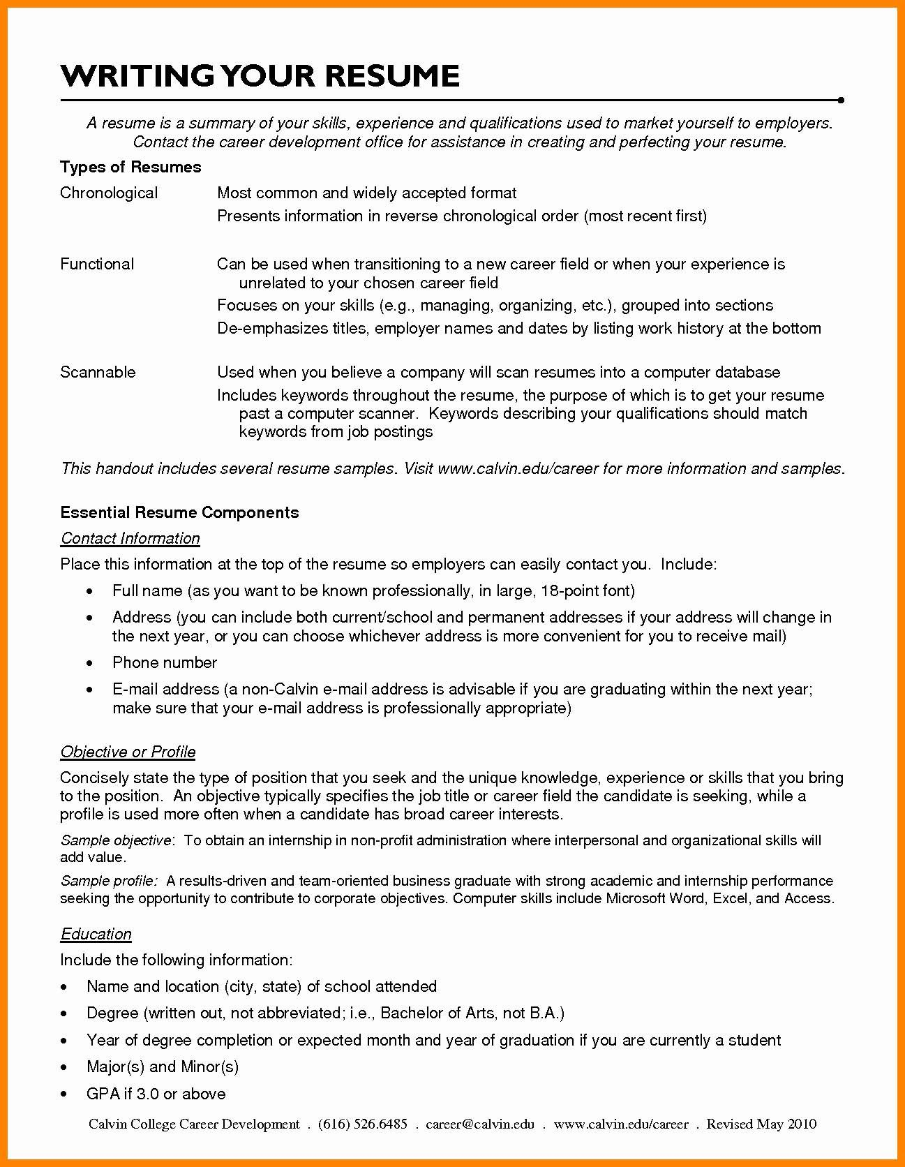 Resume Types For Openoffice 4  Resume Templates  Pinterest  Template