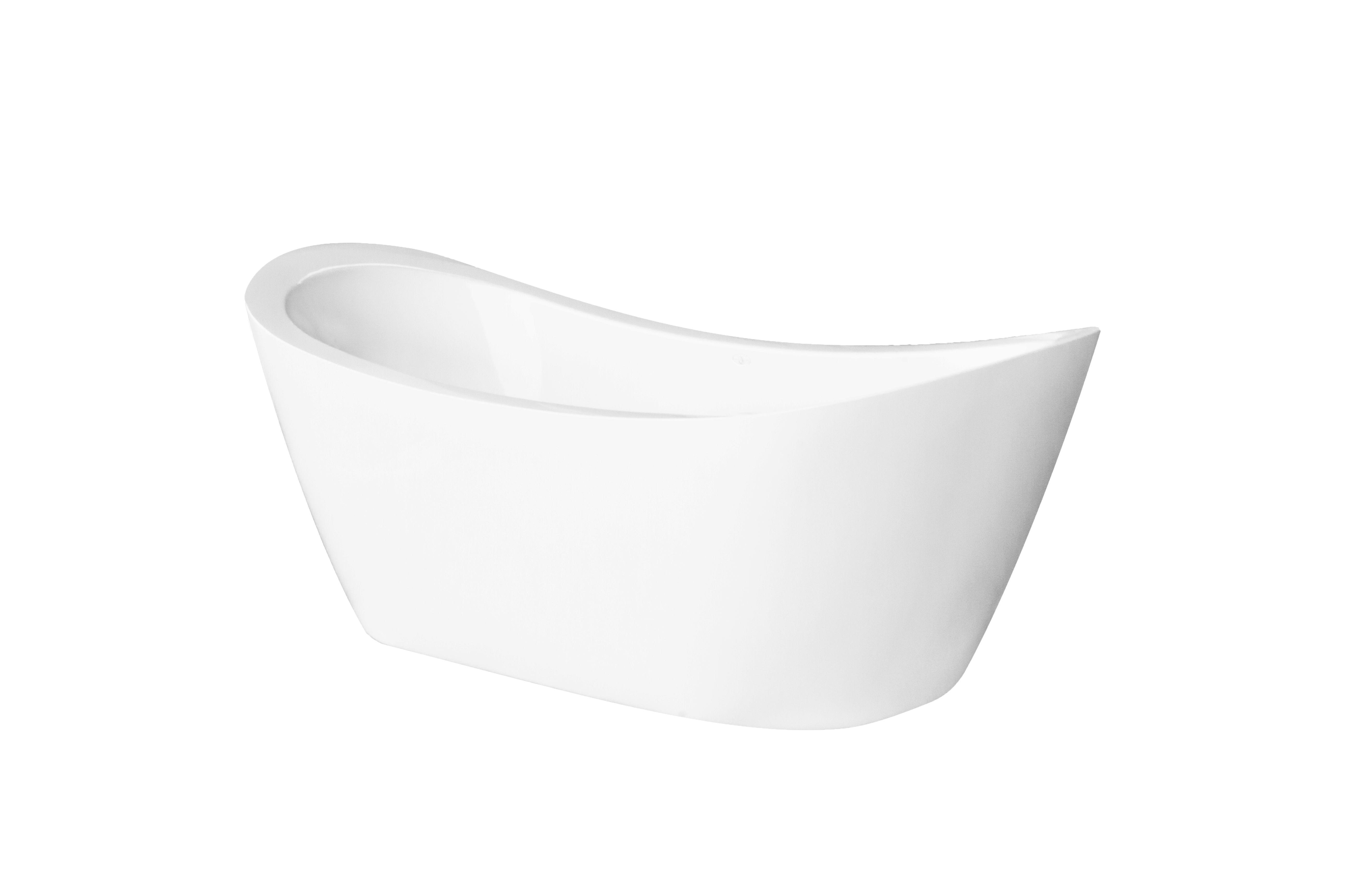 Modern, freestanding bathtub by Jetta Corporation. J62 Eclipse model ...