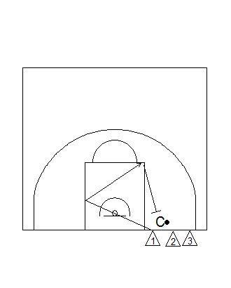 Individual Defensive Keyway Drill - Functional Basketball
