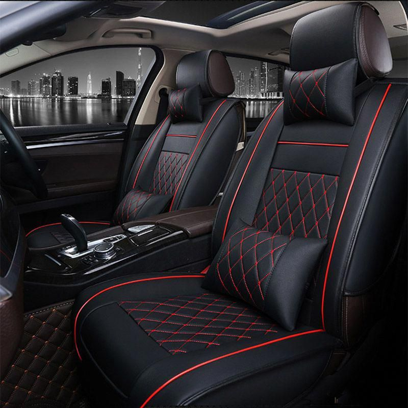 Universal Pu Leather Car Seat Covers For Volkswagen Vw Passat Polo