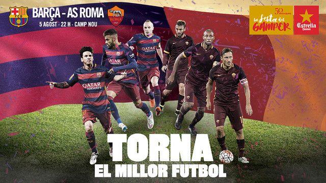 Tickets Gamper #FCBarcelona #Tickets #CampNou #Gamper #Football