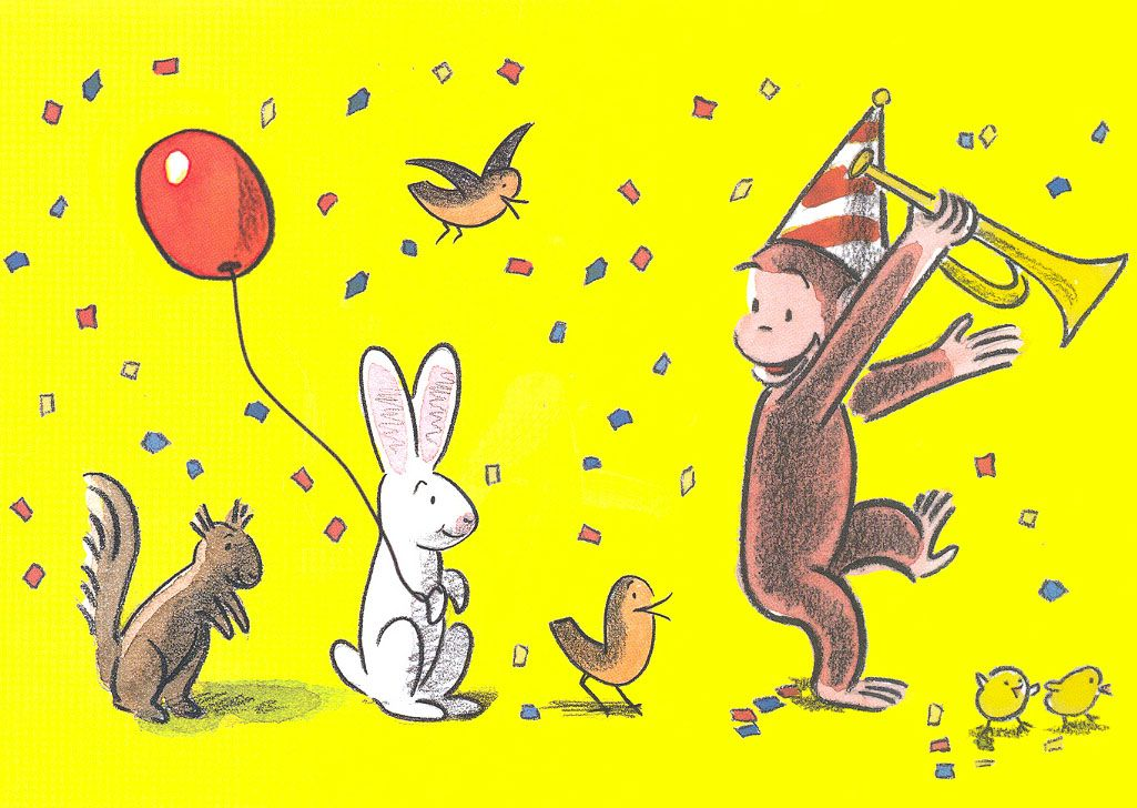 Birthday card from curiosities greeting cards and papercards birthday card from curiosities greeting cards and papercards curious george bookmarktalkfo Images