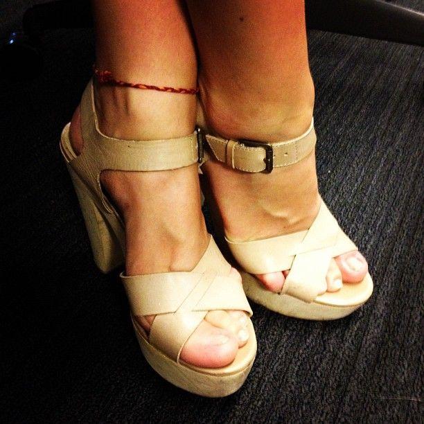 Loving @huffingtonpost video editor Amber Genuske's summer heels! - @huffpoststyle- #webstagram