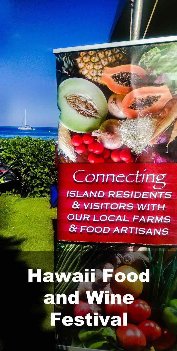 Hawaii Food And Wine Festival Maui Wine Festival Wine Recipes Hawaii Food