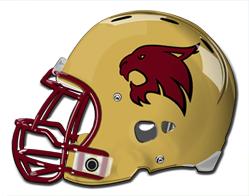 Texas State Bobcats Football Football Helmets Texas State
