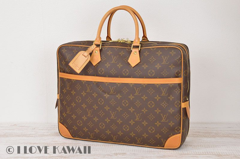 93af17eae7 Louis Vuitton Monogram Porte Documents Voyage 2 Compartment M53362 ...