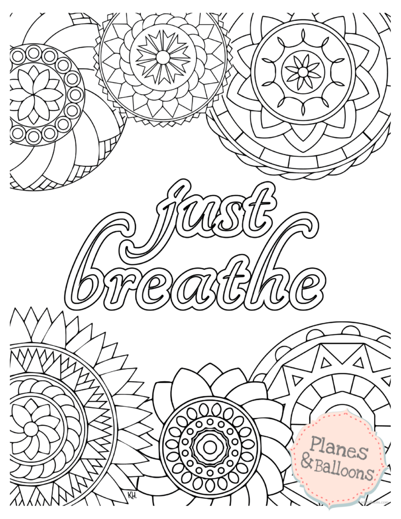 Stress relief coloring pages to help you find your Zen ...