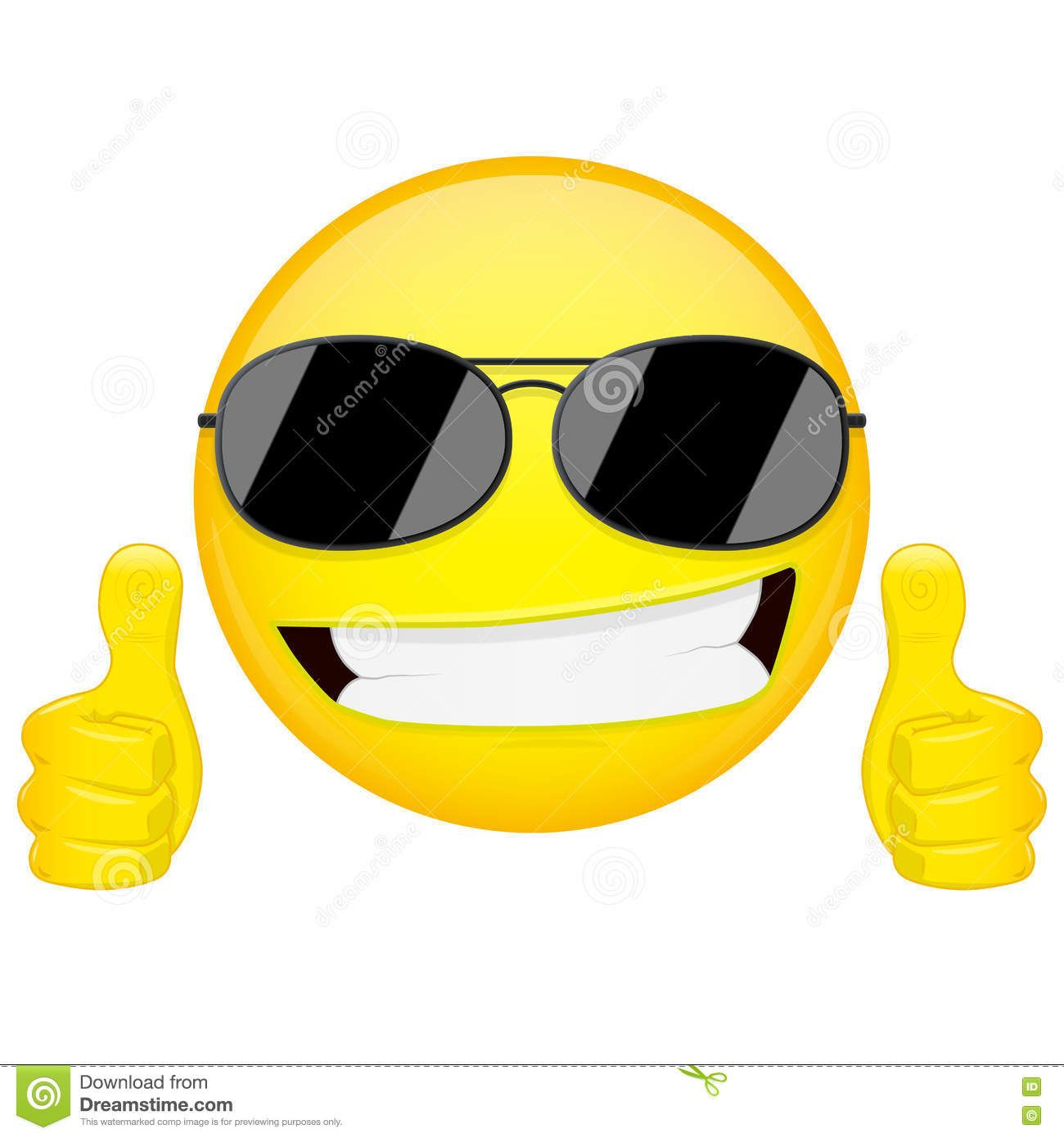 Funny emoji stock illustration good idea emoji thumbs up emotion funny emoji stock illustration good idea emoji thumbs up emotion cool guy sunglasses emoticon biocorpaavc Images