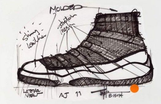 8cadc70ab88 Complex: 25 Must-See Design Sketches Of Your Favorite Sneakers   FD ...