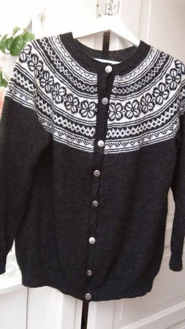 bøvertun genser oppskrift