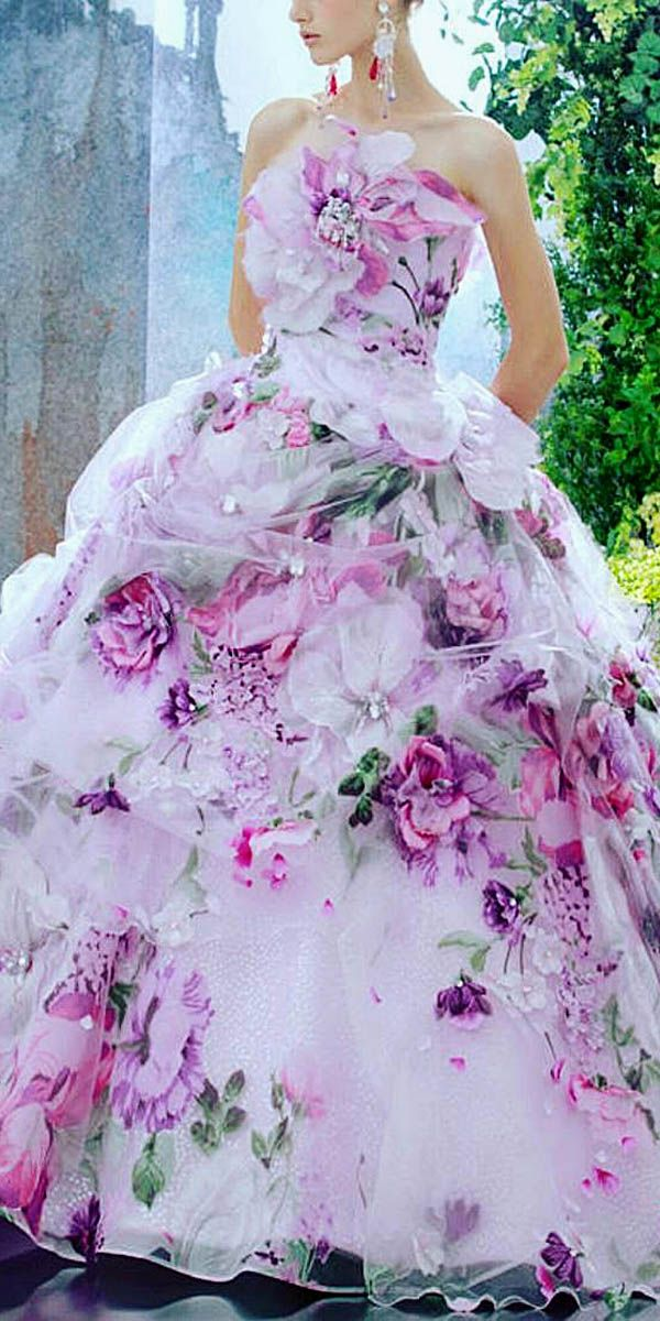 24 Totally Unique Fashion Forward Wedding Dresses ❤ See more…