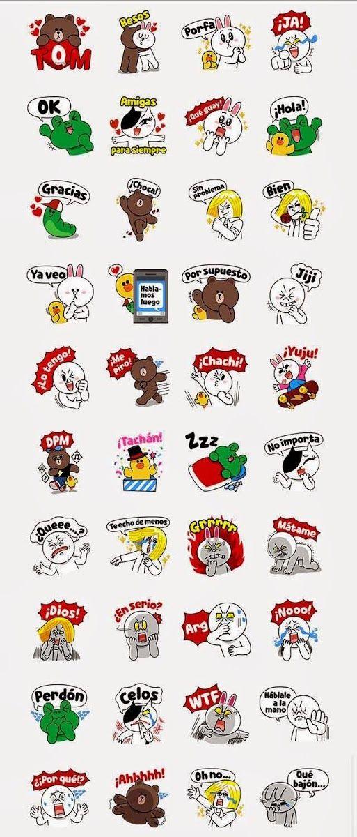 Free LINE Character: Love U - Spanish Sticker In Spain | sticker in