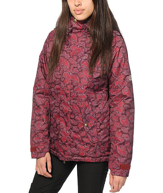 29c4a851ae442 686 Authentic 4-EVA -After Paisley 10K Snowboard Jacket | snowglobe ...