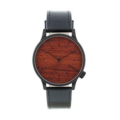 Komono Herren Uhr Winston - Black Wood - http://on-line-kaufen.de/komono/komono-herren-uhr-winston-black-wood
