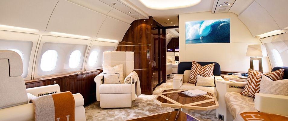 one - Business Jet Interior Design