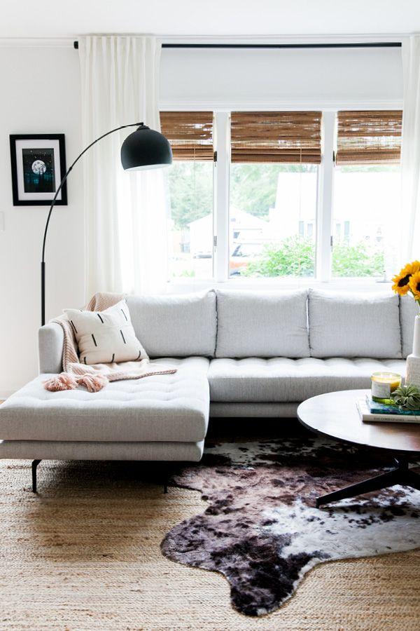 Fantastic Parker Coconut White Left Sectional Schwartz Home Living Pdpeps Interior Chair Design Pdpepsorg