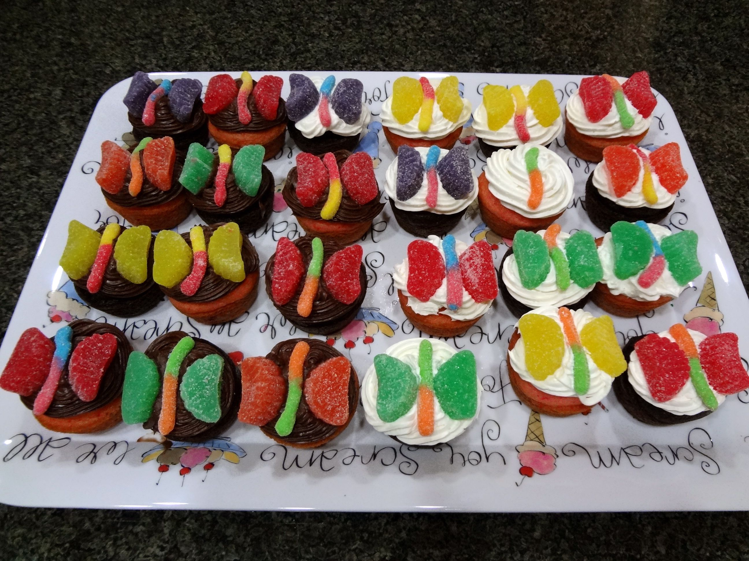 Butterfly Cupcakes Next School Cake Stall Idea With Images