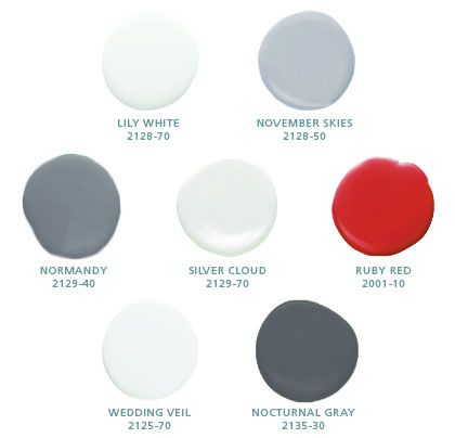 scandinavian paint colors - Google Search