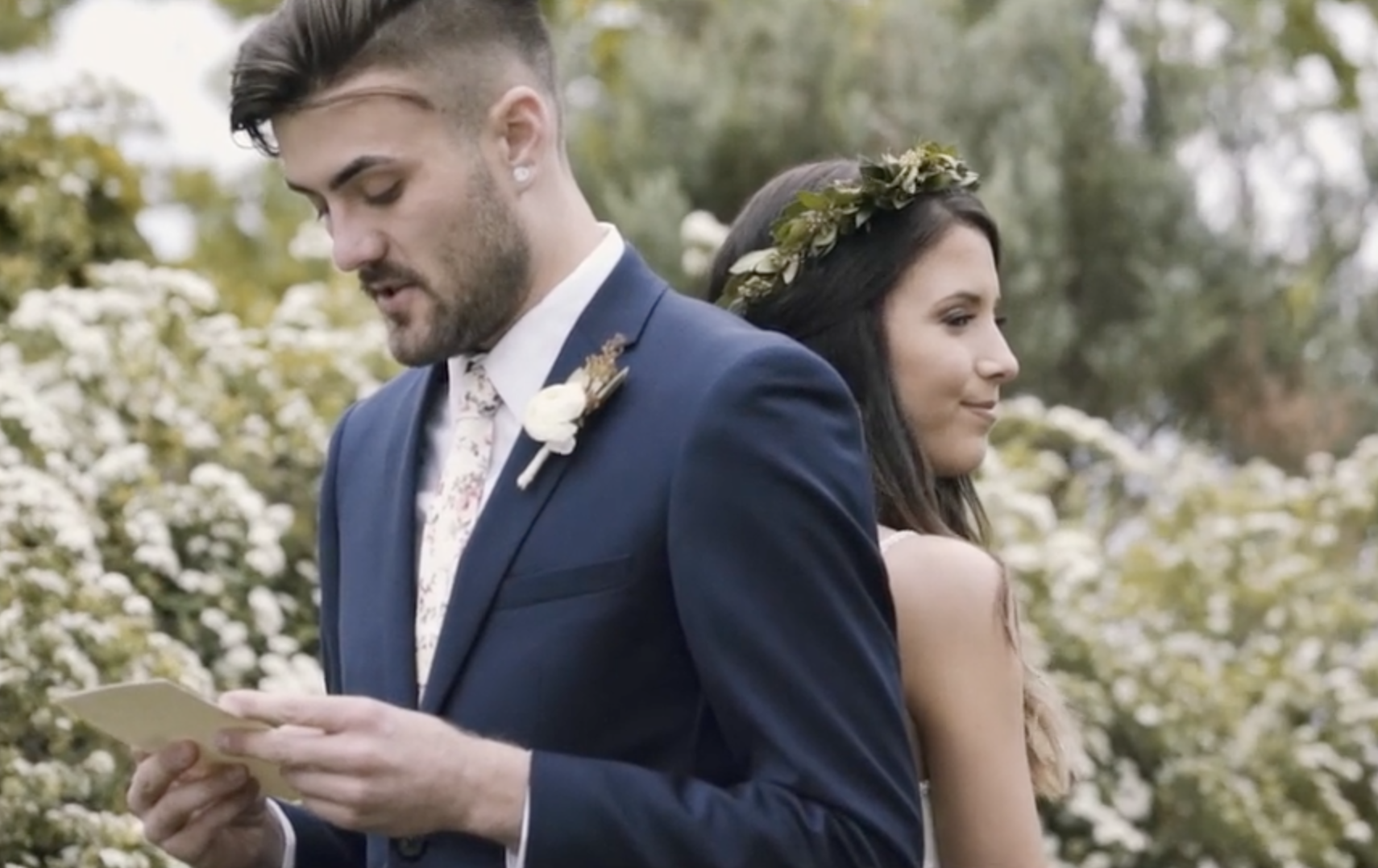 Watch Incredible Vows That Will Make You Cry In This Beautiful Boho