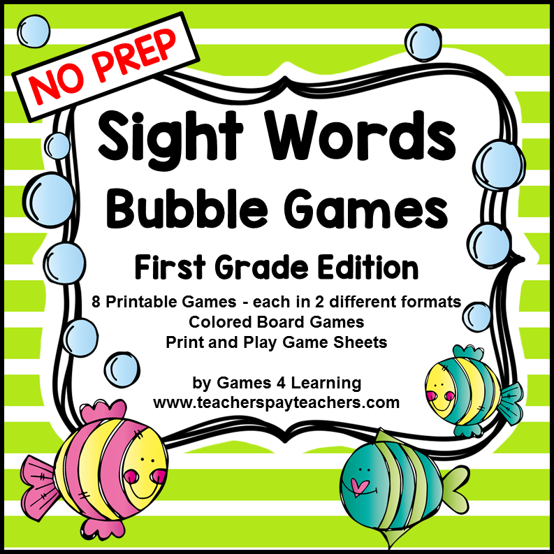 first grade dolch sight words pdf