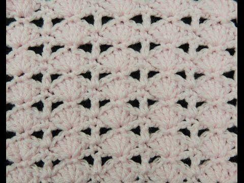 Punto corazones reversible o AMOR ETERNO tejido a crochet! - YouTube ...