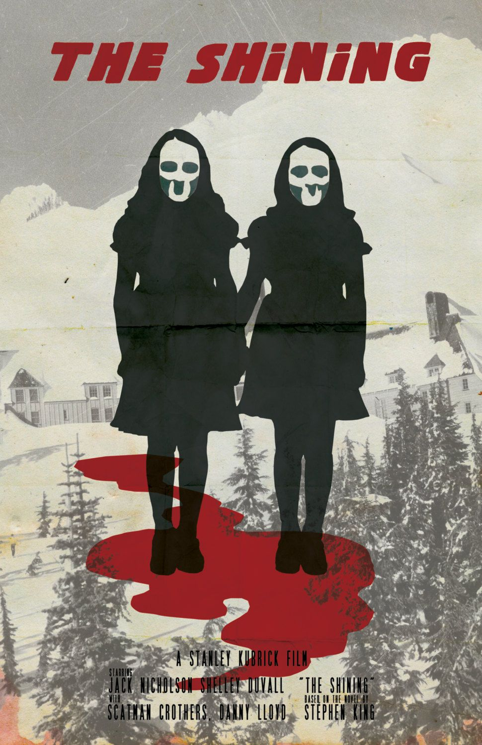 Prints//Posters Limited Edition Print The Shining Overlook Hotel