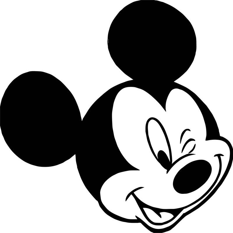 Animal Kingdom Mickey Mouse Face Coloring Page Mickey Mouse Wall Mickey Mouse Clipart Mickey Mouse Head