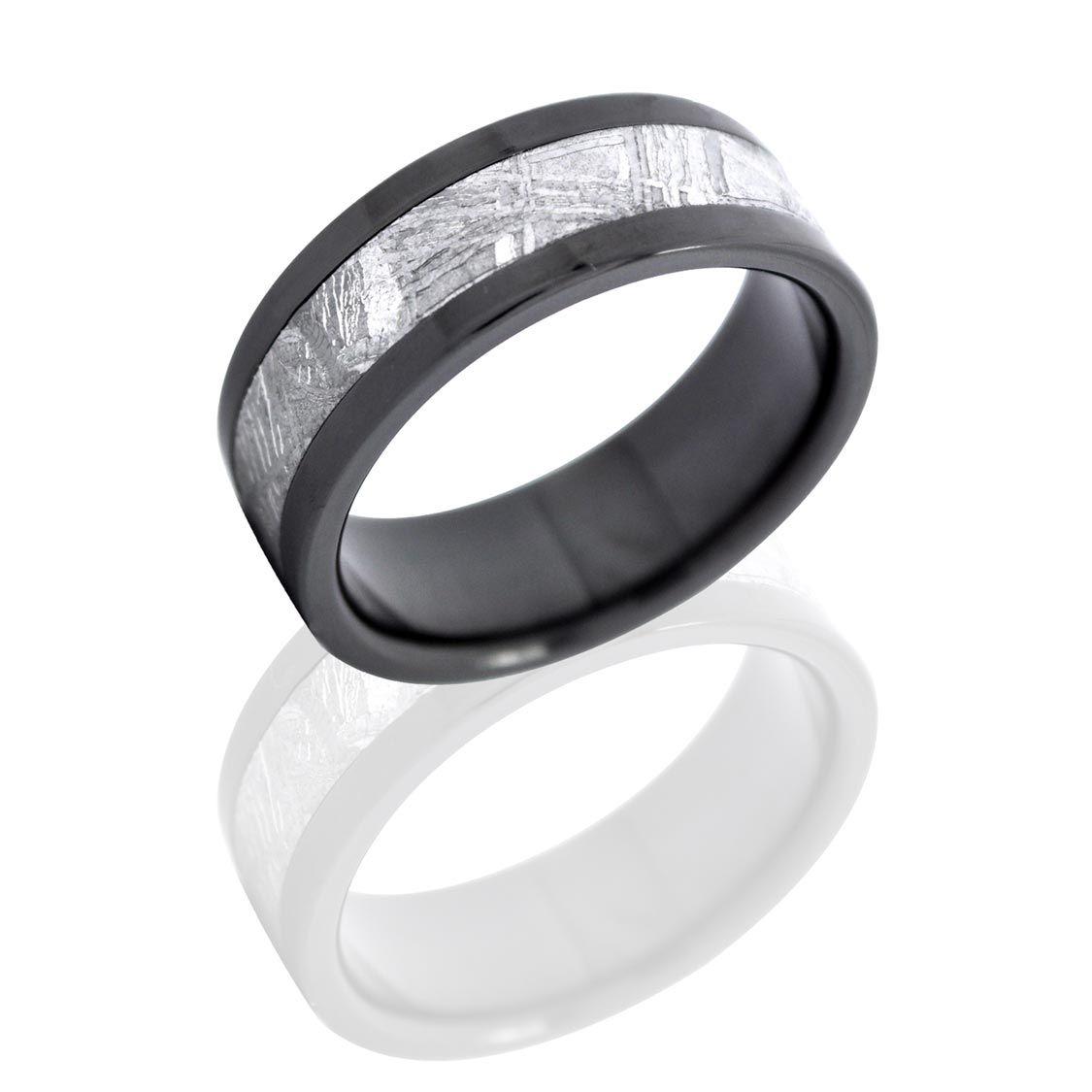 Mens Meteorite Wedding Ring synrgyus