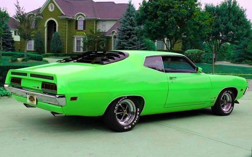 Pin By Michael Mallory On Cars Hot Rods Cars Muscle Classic Cars Muscle Ford Torino