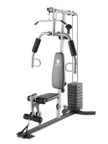 Amazon Com Gold S Gym Xrs 30 System Sports Outdoors At Home Gym Golds Gym No Equipment Workout