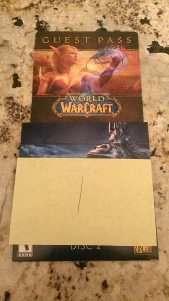 Want a World of Warcraft Guest Pass? Code will be emailed