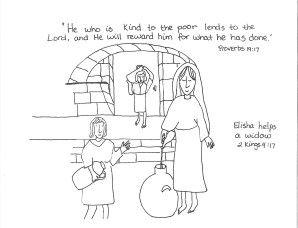 Elisha Helps A Widow The Borrowers Debt