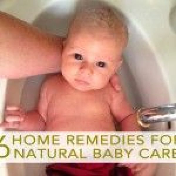 6 Home Remedies for Natural Baby Care coconut oil for diaper rash Chamomile Tea