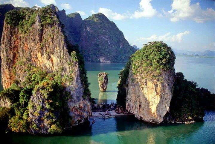 James bond island,Phang nga,Thailand