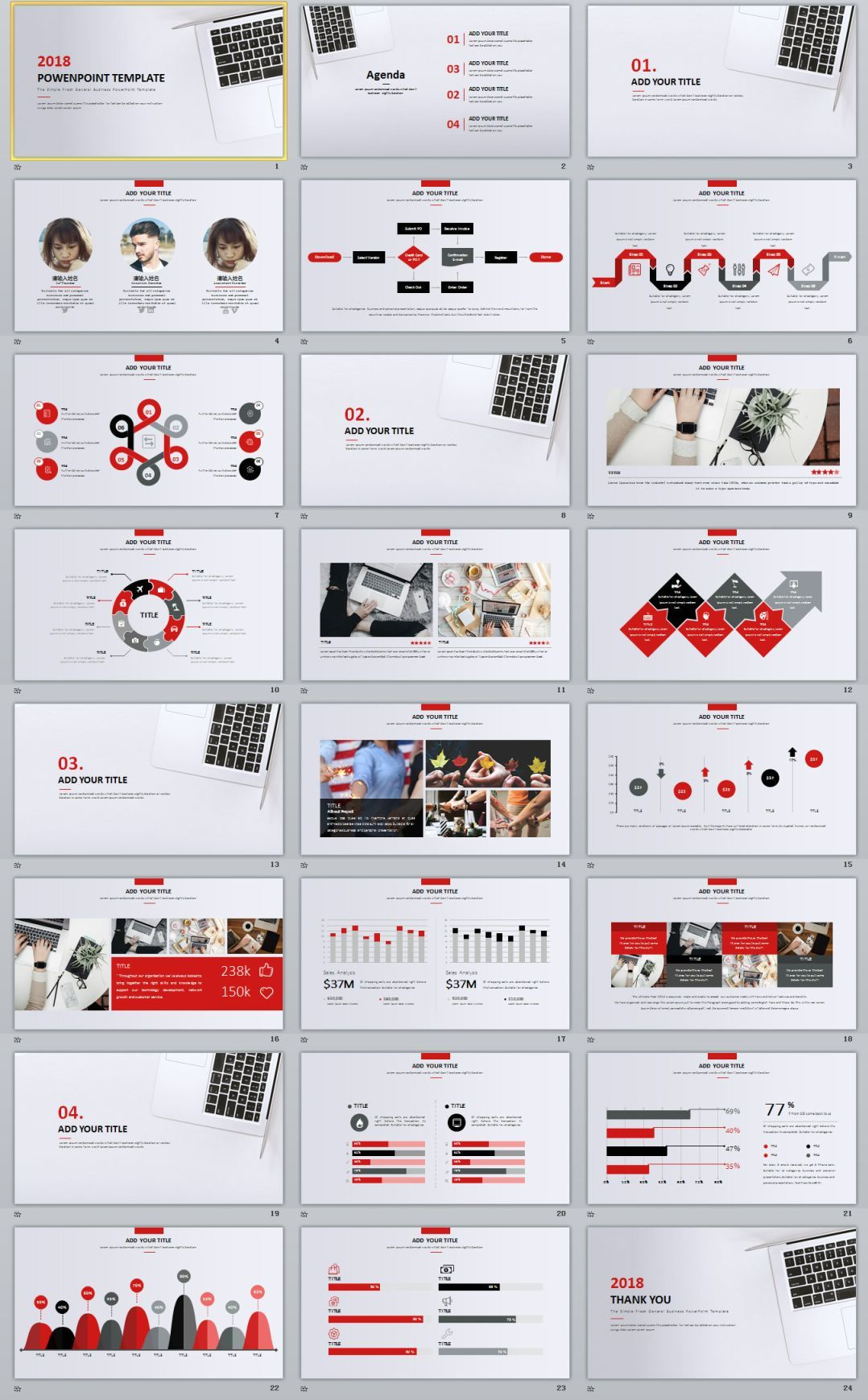 24+ Charts Creative PowerPoint template | Creative powerpoint ...
