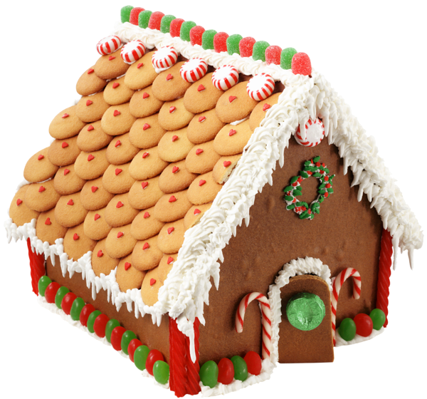 Large Transparent Gingerbread House Png Picture Gingerbread House Candy Candy House Gingerbread House